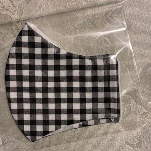 Other - Face Mask- Black Checker